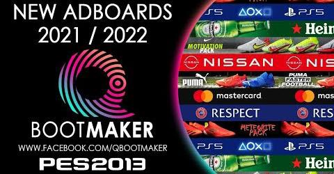 New Adboards 2021-2022 For PES 2013