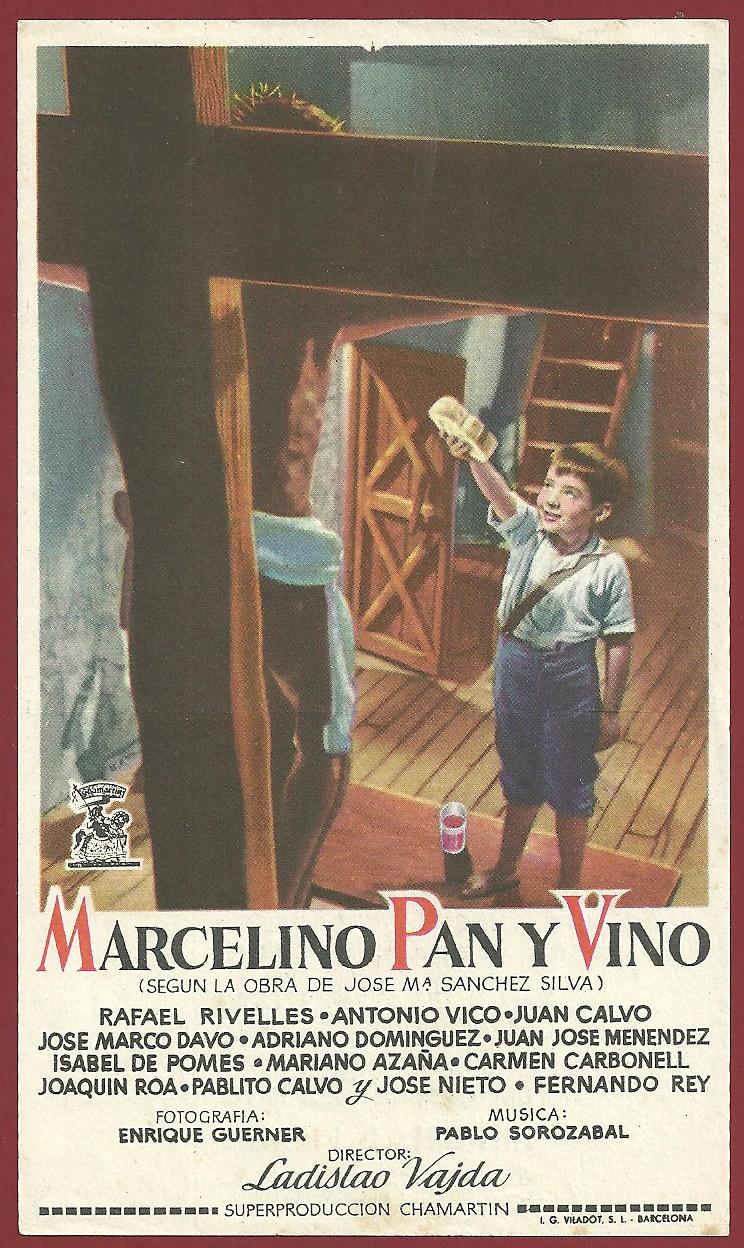 Vino Y Pan 1955 Marcelino