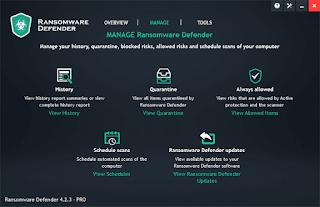 Ransomware Defender v4.2.3 PRO Full version