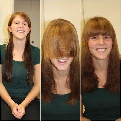 Frisuren Vorher Lang Nachher Kurz Mittellange Haare