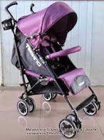 Kereta Bayi LightWeight BabyElle S502 Techno Reversible Seat