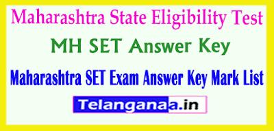 Maharashtra SET Answer Key 2019 State Eligibility Test Answer Key 2019 Download