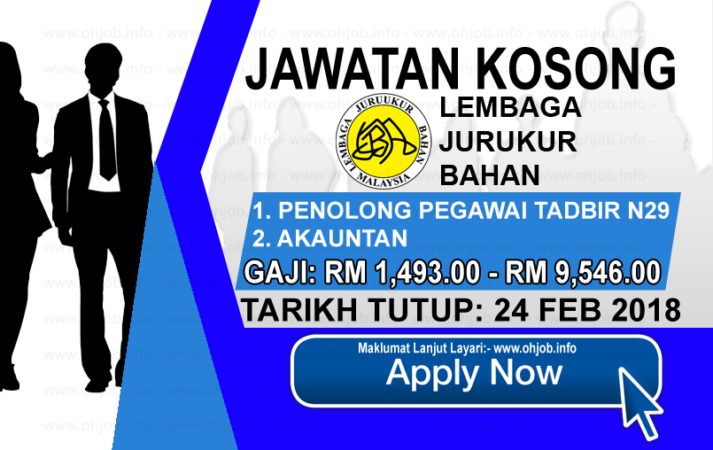 Jawatan Kerja Kosong Lembaga Juruukur Bahan Malaysia logo www.ohjob.info februari 2018