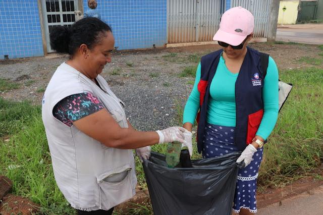 Prefeitura continua trabalhando no combate a dengue em Luís Eduardo Magalhães
