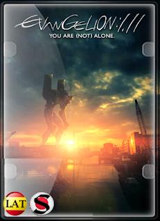 Evangelion: 1.11 – Tú (No) Estás Solo (2007) HD 1080P LATINO/INGLES/JAPONES