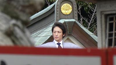 大阪 成田山不動尊の節分祭 玉木宏さん