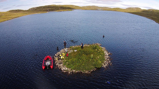 Scotland's crannogs date back to 3,700 BC