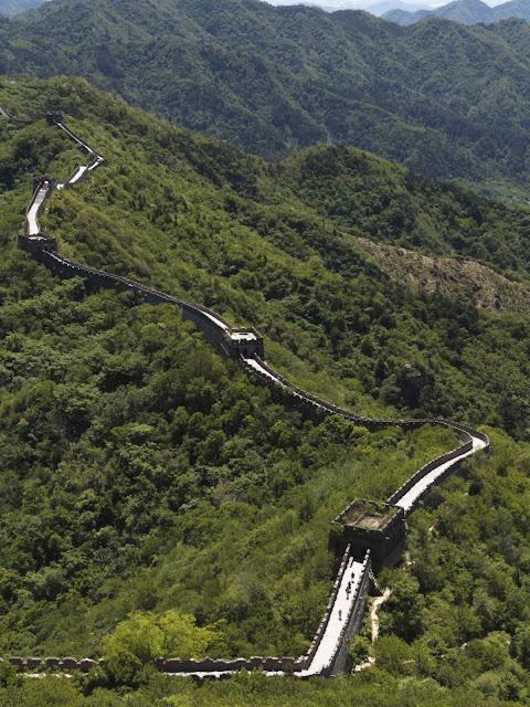 Mutianyu Great Wall of China outside of Beijing