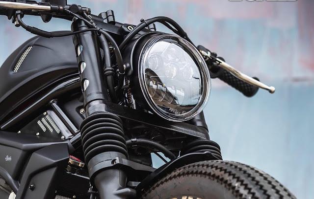 Honda Rebel 500 By K-Speed Hell Kustom