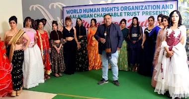 योगराज फिल्म्स के फैशन शो में मॉडल्स ने बिखेरे जलवे