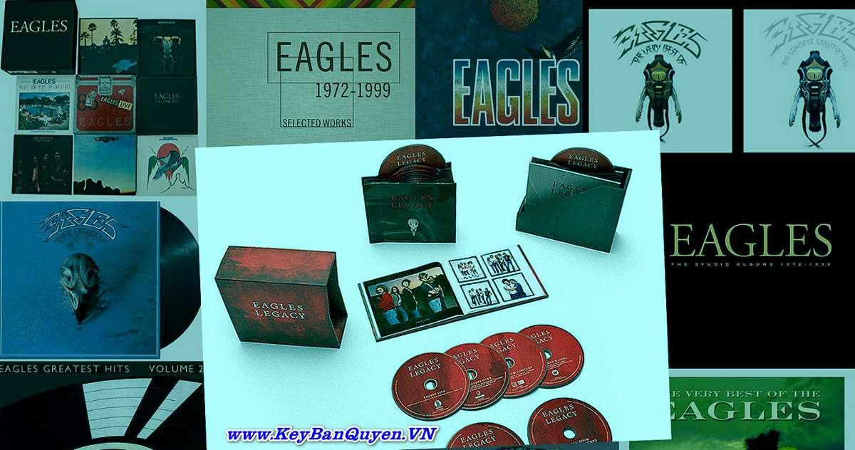Tổng hợp CD nhạc FLAC của nhóm The Eagles .