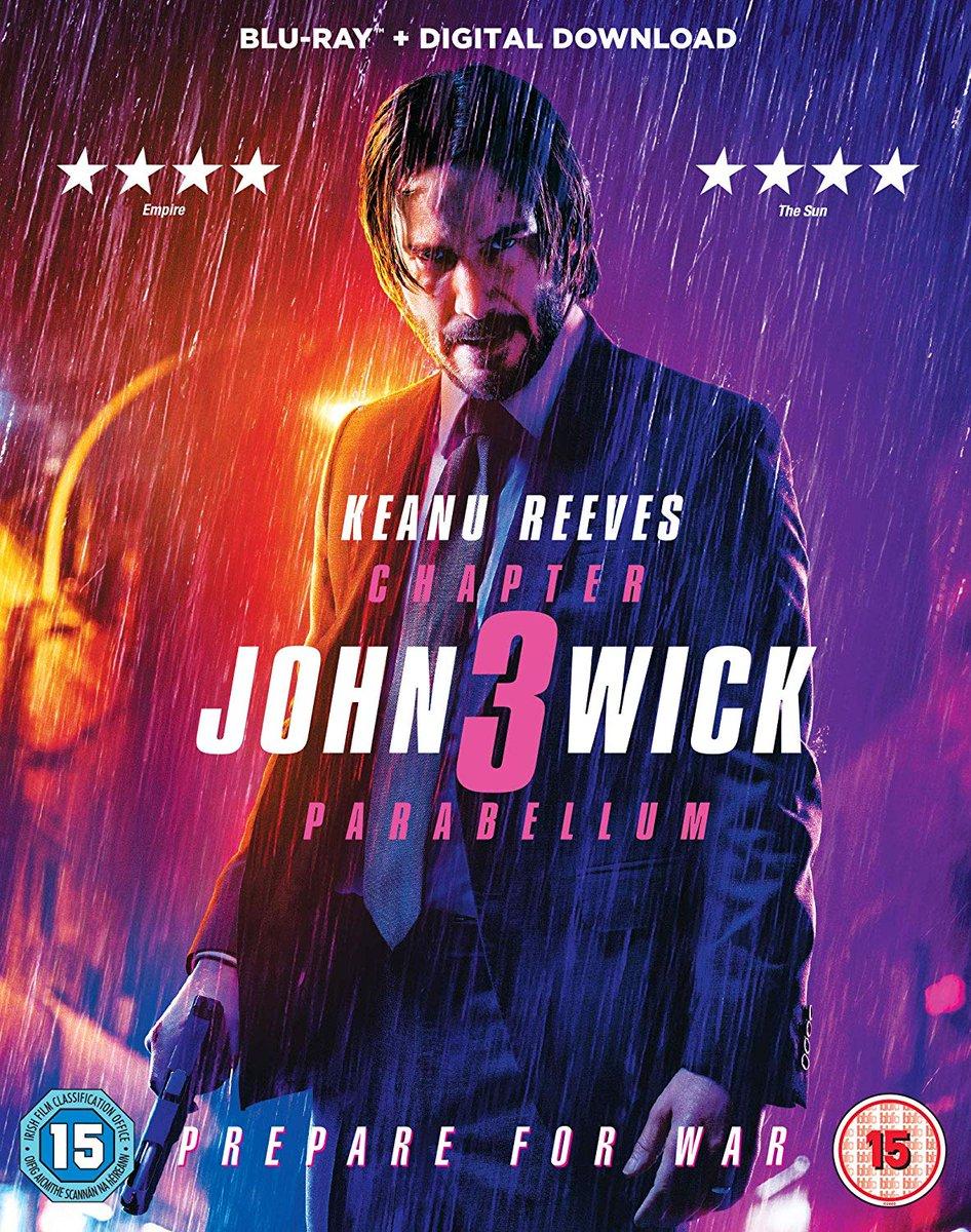 Descargar John Wick 3 Parabellum Cover Caratula Blu-ray