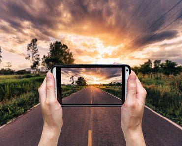 foto keren dengan smartphone