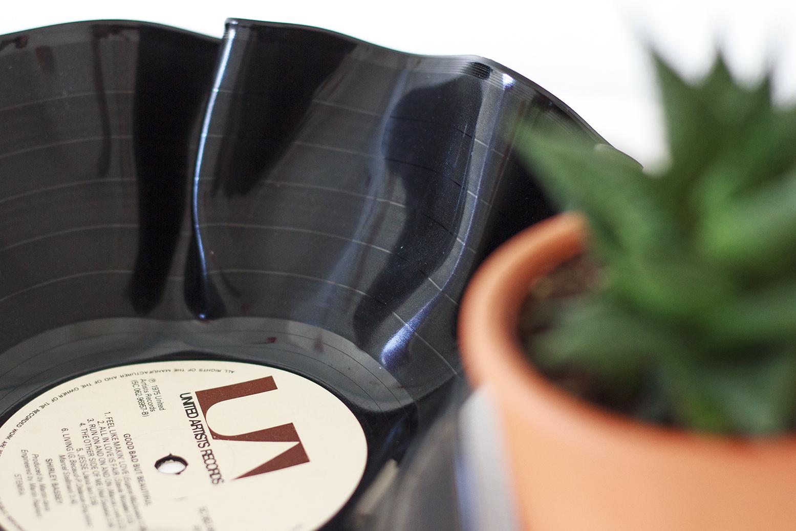 DIY vintage bowl