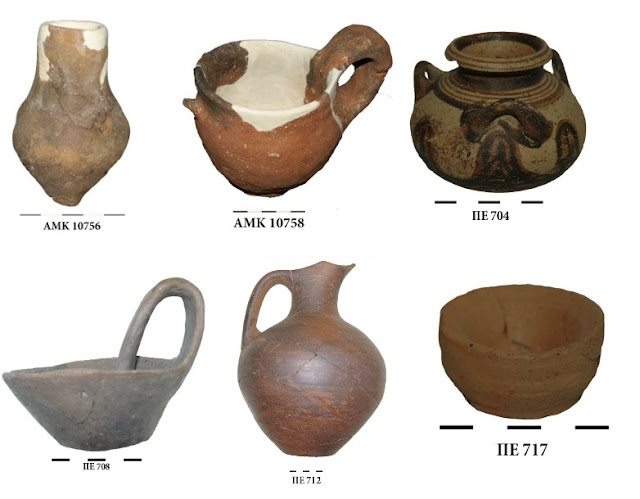 Important finds from the excavation at Petroto, in central Greece