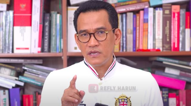 Refly Harun: Unjuk Rasa adalah Hak Konstitusional, tapi Barang Haram di Pemerintahan Saat Ini