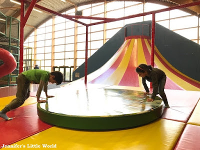 Baluba soft play at Center Parcs Erperheide