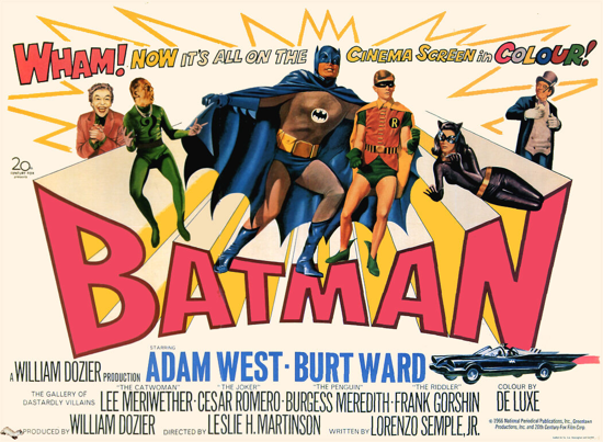 Batman movie 1966 poster 2-2