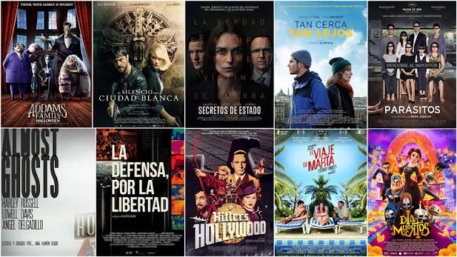 Estrenos cartelera española 25 de Octubre de 2019
