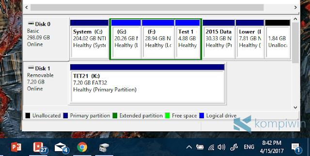 cara mudah format flashdisk yang tidak bisa diformat