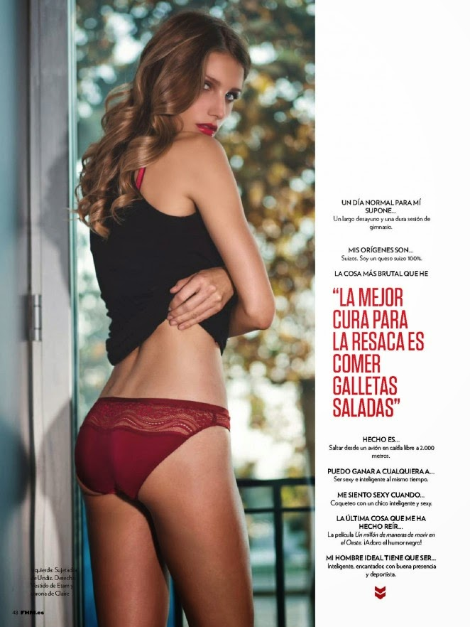 Angeline Suppiger - FHM Spain December 2014