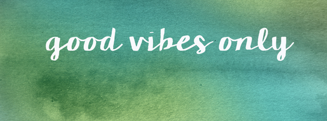 Good Vibes Only Facebook Cover