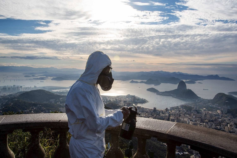 Christ the Redeemer open Rio de Janeiro Coronavirus