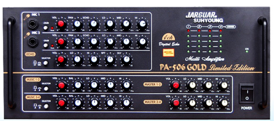 Amply Jarguar PA 506 Gold Limited