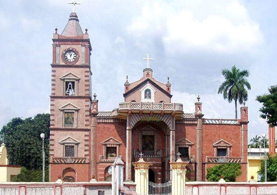 Basilica of Holy Rosary, bandel church