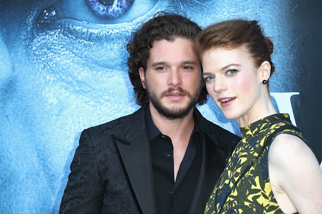 Game of Thrones stars Rose Leslie and Kit Harington welcome their first child, a baby boy (Pictures)