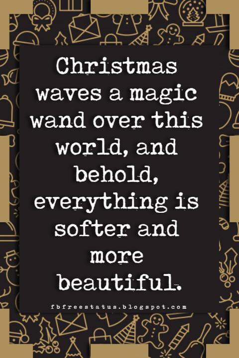 Christmas inspirational quotes and saying