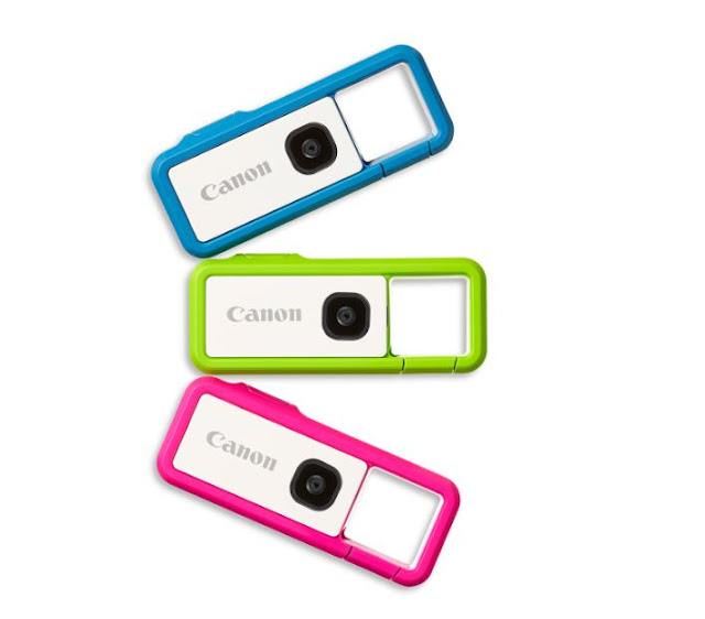 "The World Is Your Oyster and Now You Can ""REC"" It With New Canon IVY REC Clippable Outdoor Camera"