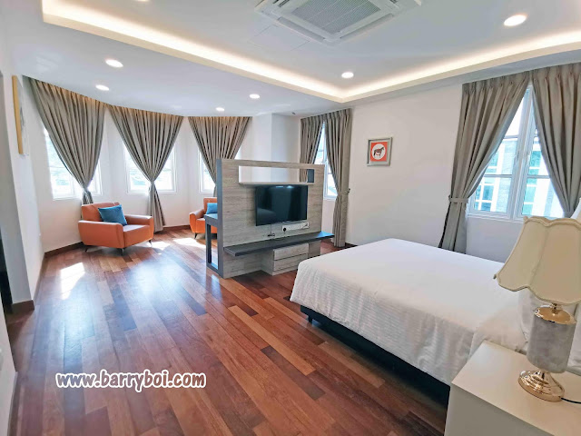 Turf Resort Penang Bungalow 4 bedroom For Rent Homestay  Holiday Penang Influencer Blogger Malaysia