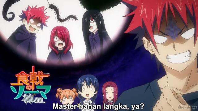 Shokugeki no Souma: Shin no Sara Episode 01 Subtitle Indonesia