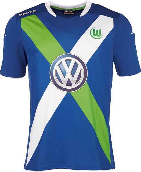 lowest price df1bf a483c Kappa Wolfsburg 2015/16 Football Jerseys