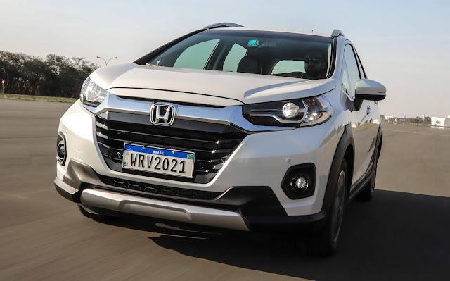 Honda WR-V cresce 9.6% em outubro - facelift