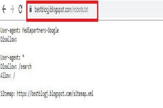 blogger seo setting,robots.txt