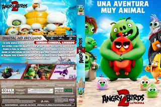 CARATULA ANGRY BIRDS 2 LA PELICULA 2019