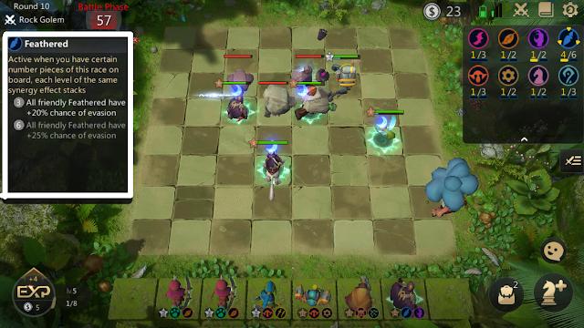 Ras Feathered Auto Chess Mobile Yang Pandai Menghindar