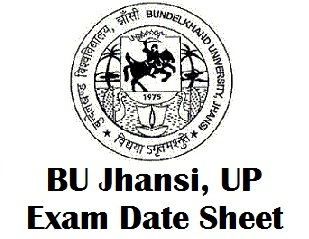 Bundelkhand University Jhansi Date Sheet 2018