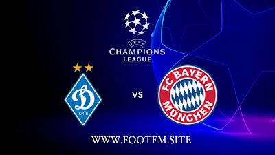 Bayern München vs Dynamo Kyiv