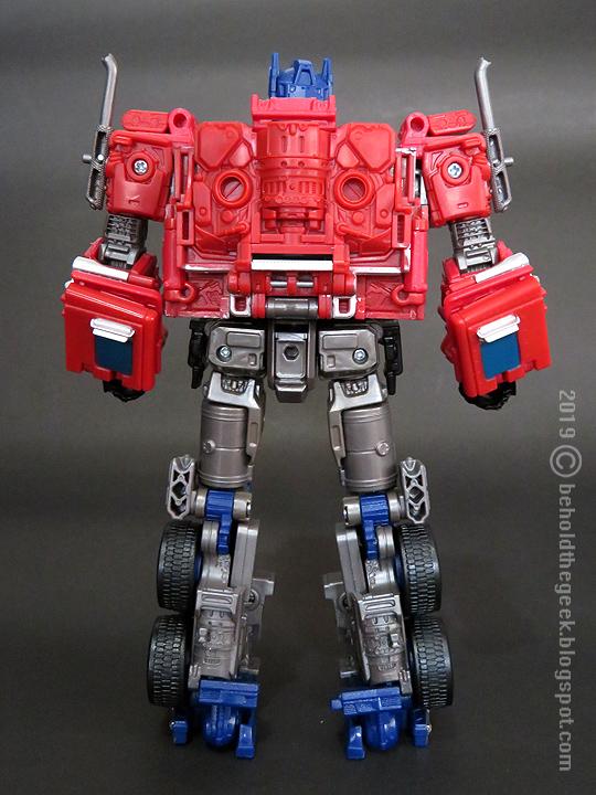 Transformers Studio Series 38 Optimus Prime Review