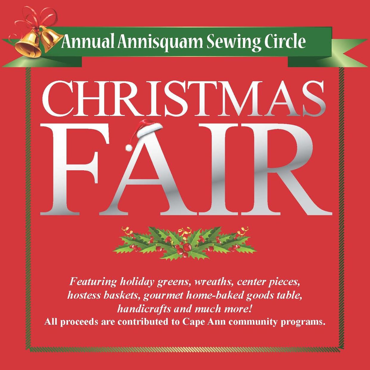 Christmas Fair Chiltonville 2020 Annisquam Sewing Circle: The Annual ASC Christmas Fair 2020