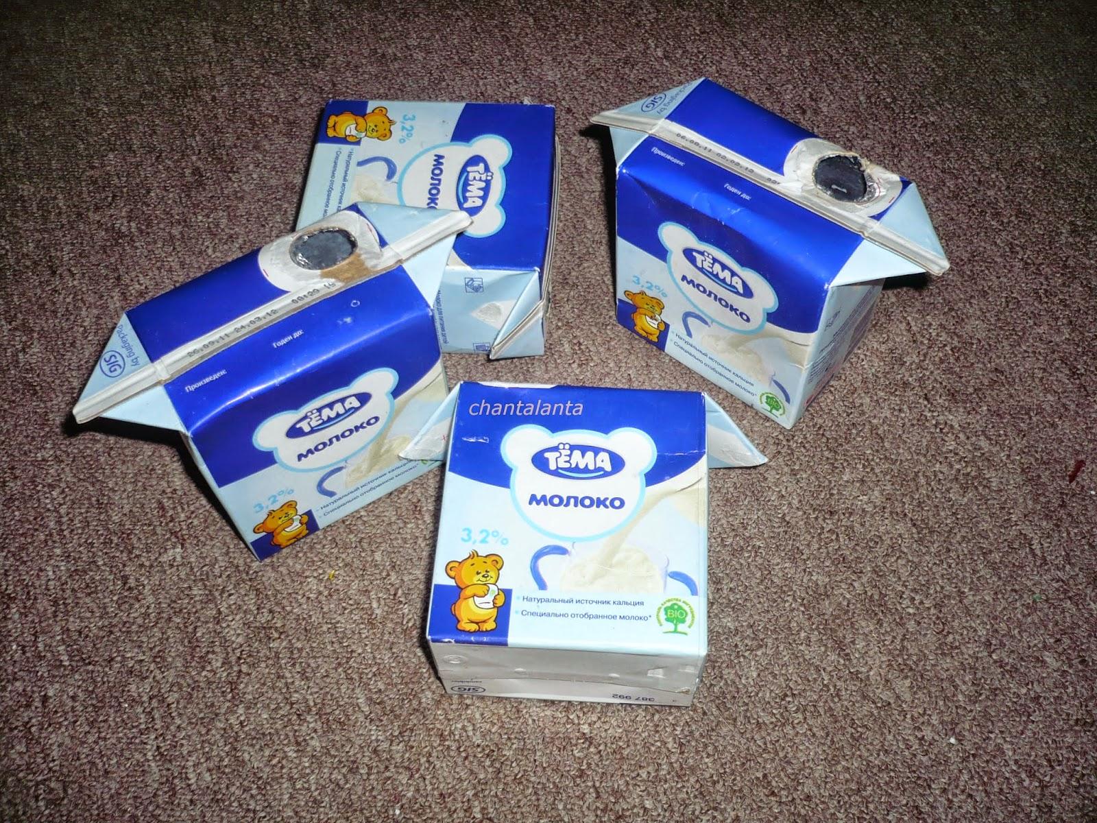 Что можно сделать из коробки из под молока своими руками фото фото 826