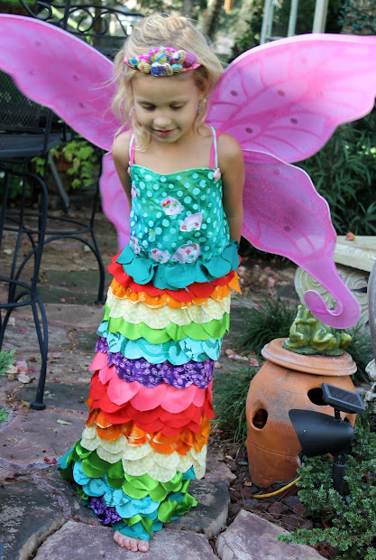 "Laci Jean ""rainbow-mermaid-fairy-princess"" Costume"
