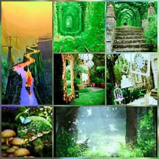 طبيعة خضراء