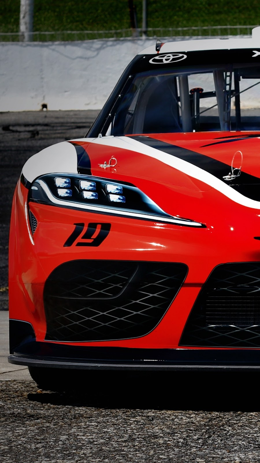 Papel de parede grátis Toyota Supra NASCAR Xfinity Series para PC, Notebook, iPhone, Android e Tablet.