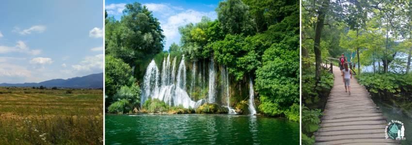 La strada da Segna a Plitvice e il parco