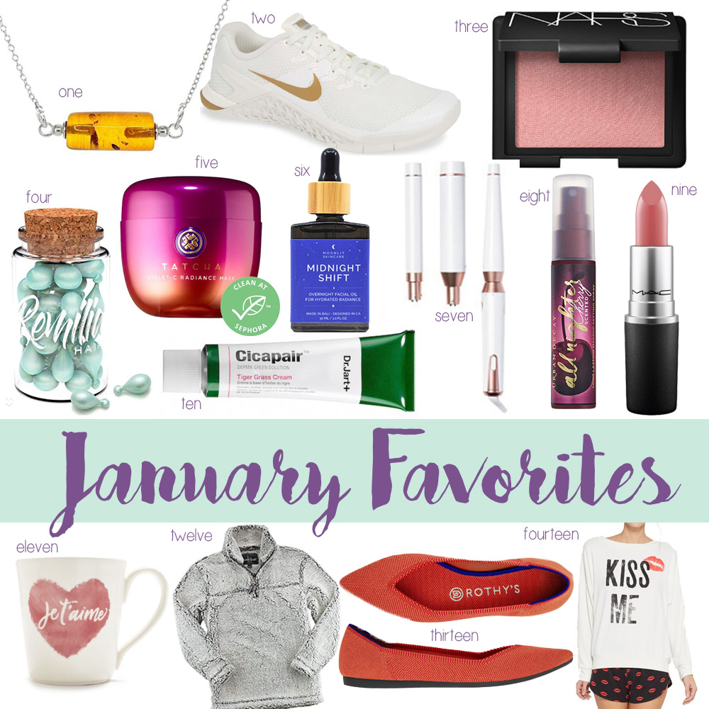 Blogger Amanda Martin of Amanda's OK shares her favorite new additions from January