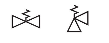 Symbols for Valves, Pumps and Electrical Equipment on Ship